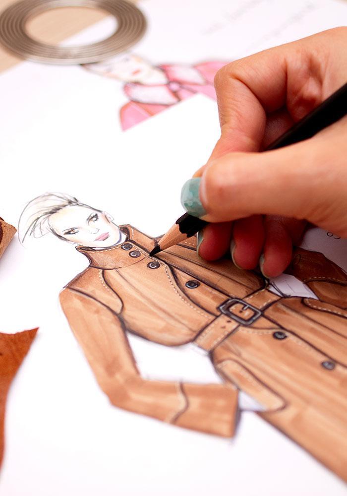 Fotografie oboru Fashion design